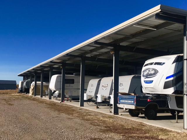 Covered RV, Boat, Vehicle Storage